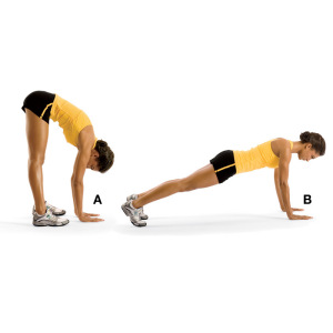 plank walkout