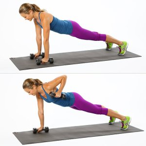 plank rows